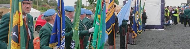 Veterans Parade at Military Show in Naas