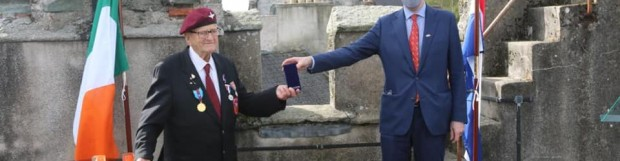 Wexford Arnhem Veteran Honoured
