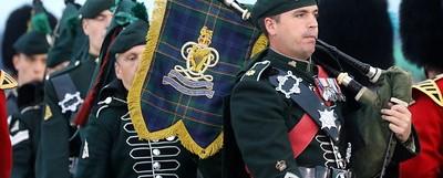 Carrickfergus Castle Hosts Massed Irish Bands