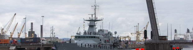 Naval Service Marks 75 Years in Ireland's Capital